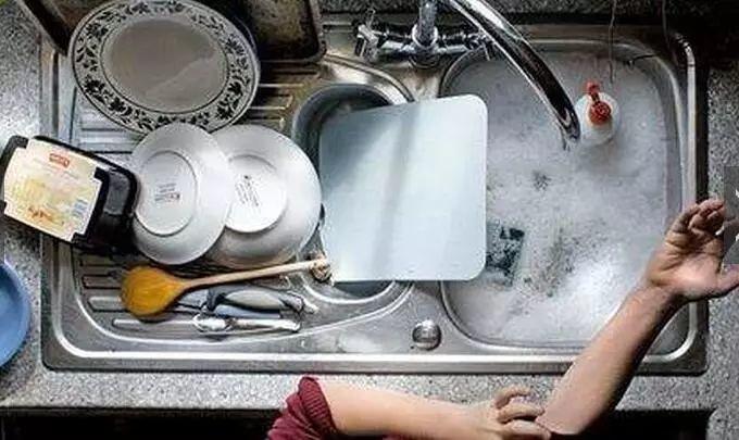 洗碗时一个动作,细菌增加7万倍!全吃进了肚子里